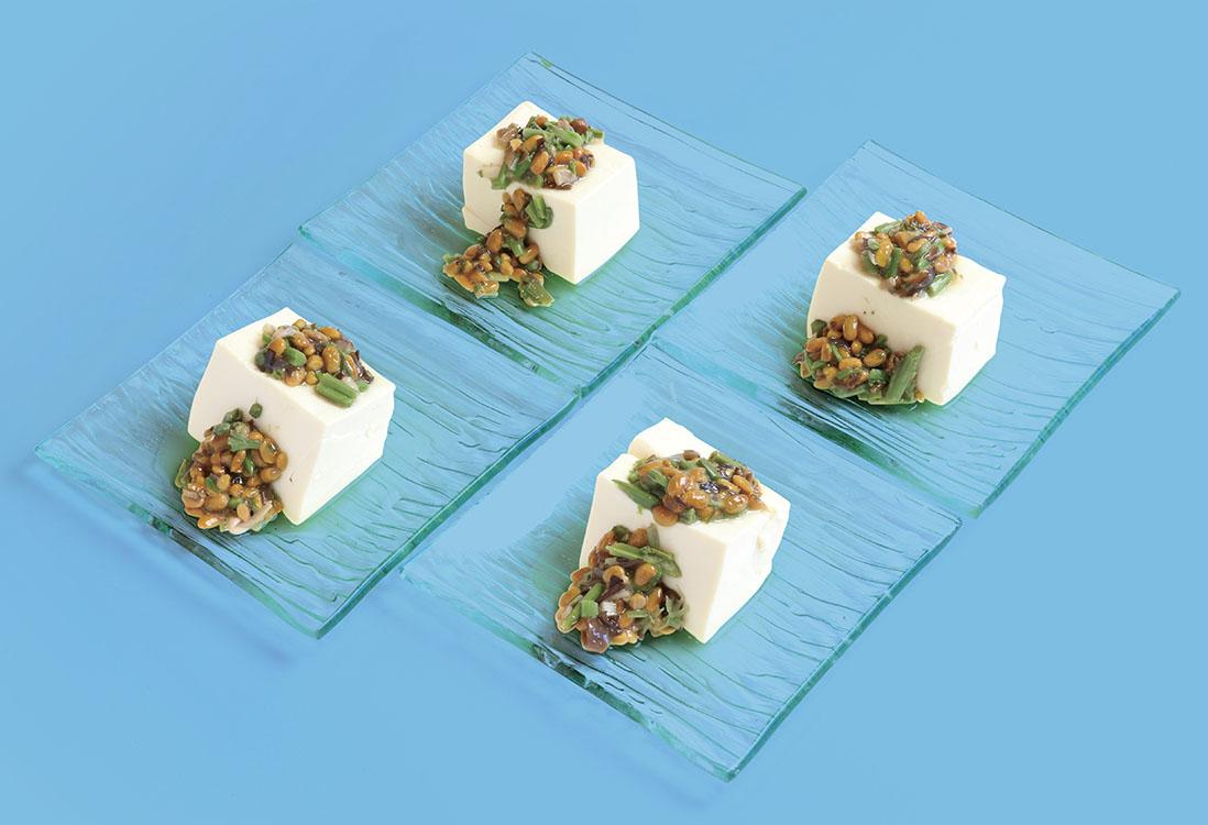 ねばねばスタミナ豆腐