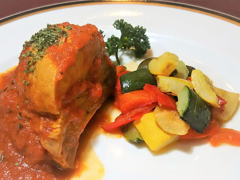 黒豚スペアリブトマト煮込み