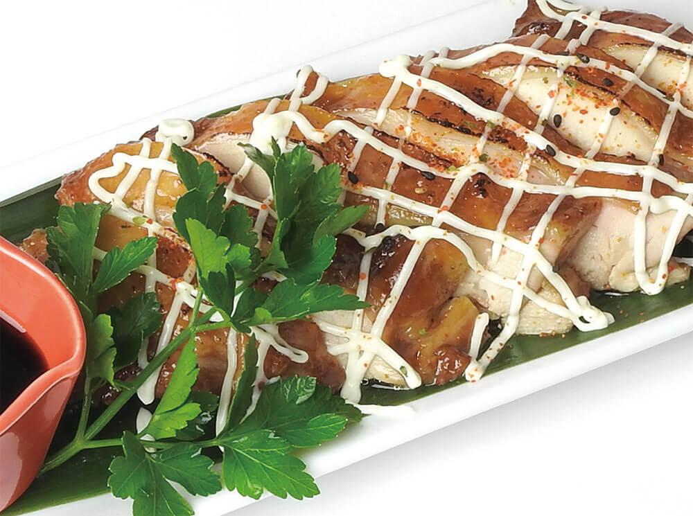 ケニーズ プラザハウス店 若鶏もも肉の照焼き