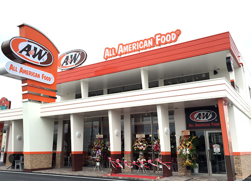 MARIN TOWN AGARIHAMA STORE A&W マリンタウンあがり浜店