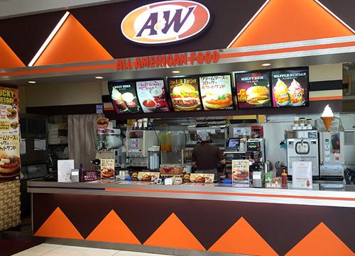 AEON HAEBARU STORE A&W イオン南風原店
