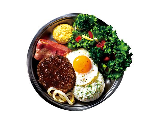 BREAKFAST ・DINNER TIME 朝・夜の時間帯メニュー