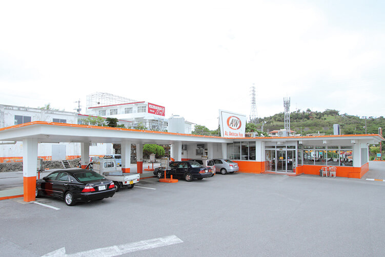 Ygagibaru Store A&W 屋宜原店