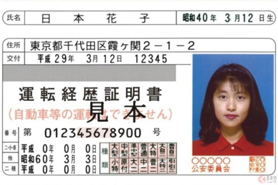 運転免許自主返納者(卒免)へのA&W特典